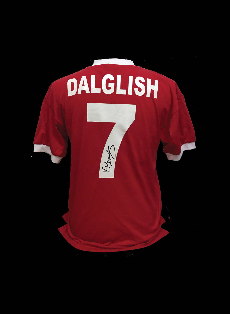 e2d4a2238 Kenny Dalglish Signed Liverpool 1978 shirt - All Star Signings