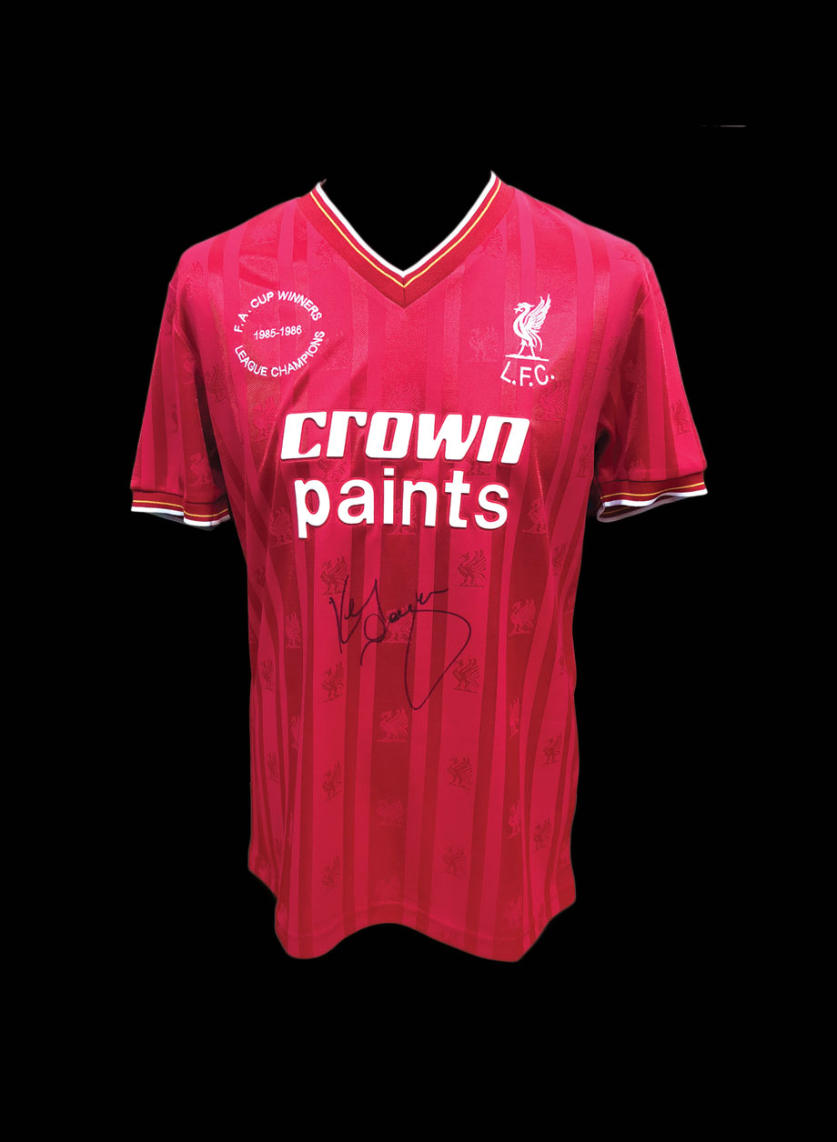 f57041cb9da Kenny Dalglish Signed Liverpool 1986 Double Winners shirt - All Star ...