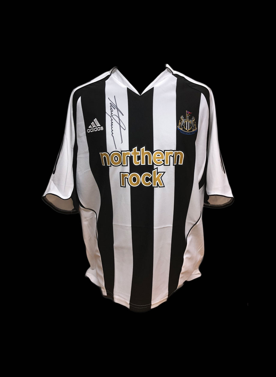 promo code a95bd 0030f Alan Shearer signed 2005/06 Newcastle United shirt