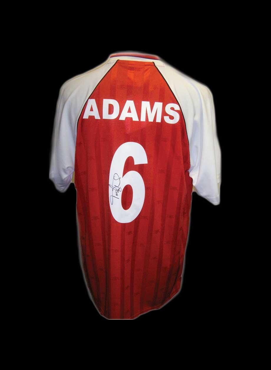 more photos ac647 78134 Tony Adams signed Arsenal 1988 shirt