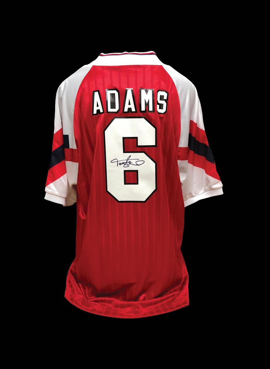 size 40 cc51f 35f66 Tony Adams signed Arsenal shirt