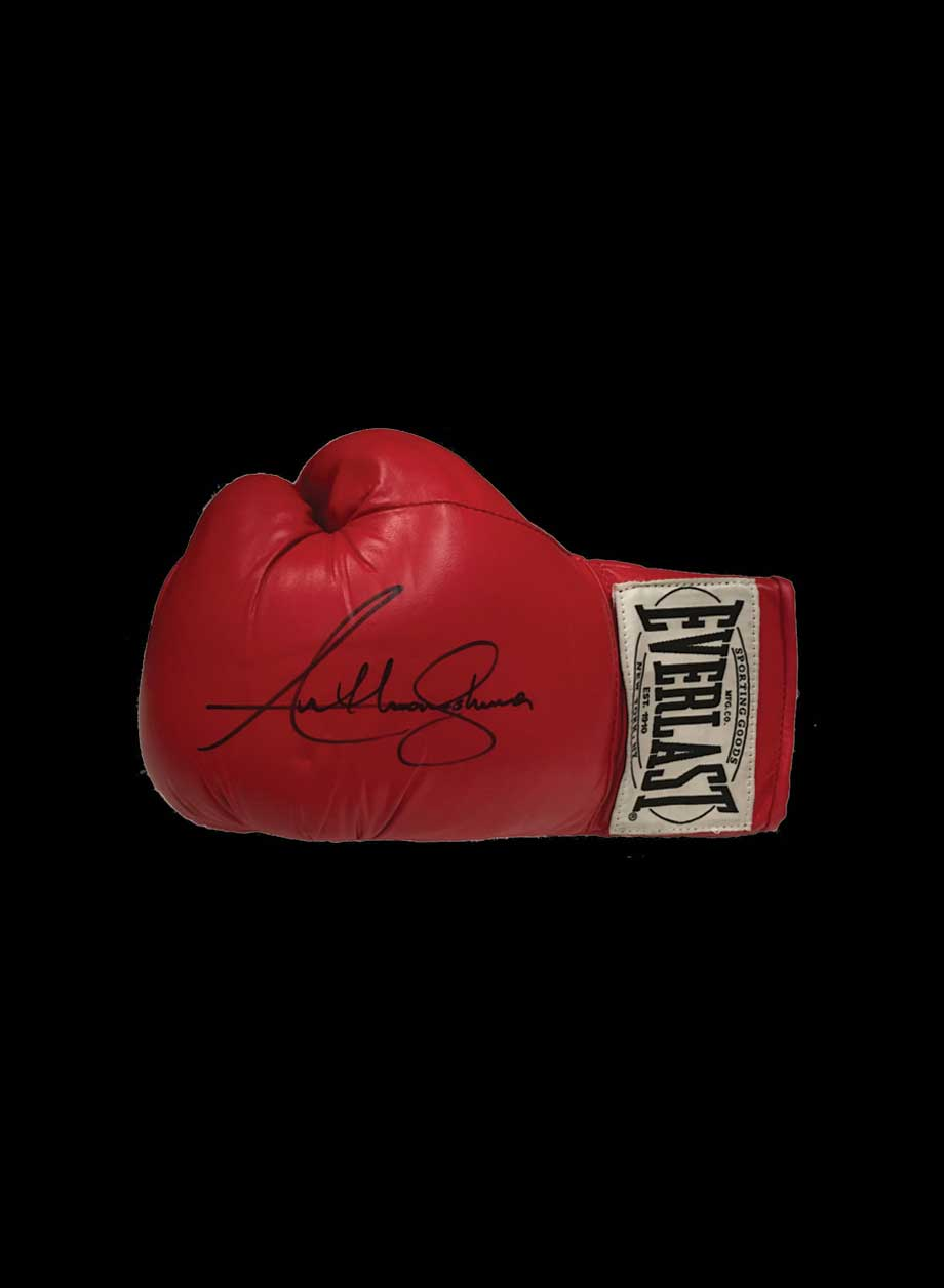 9ec8180bc99 Anthony Joshua signed boxing glove - All Star Signings