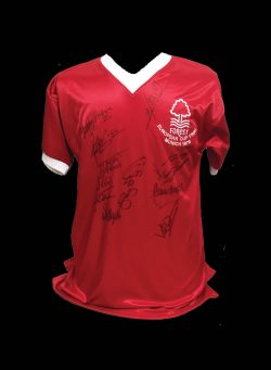 e084ec3c3 1979 Nottingham Forest European Cup Final signed shirt.