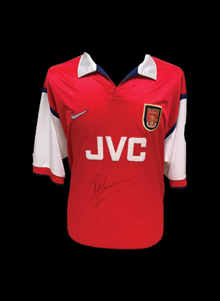 wholesale dealer 7b6ed d26ee Dennis Bergkamp signed Arsenal 1998/99 shirt