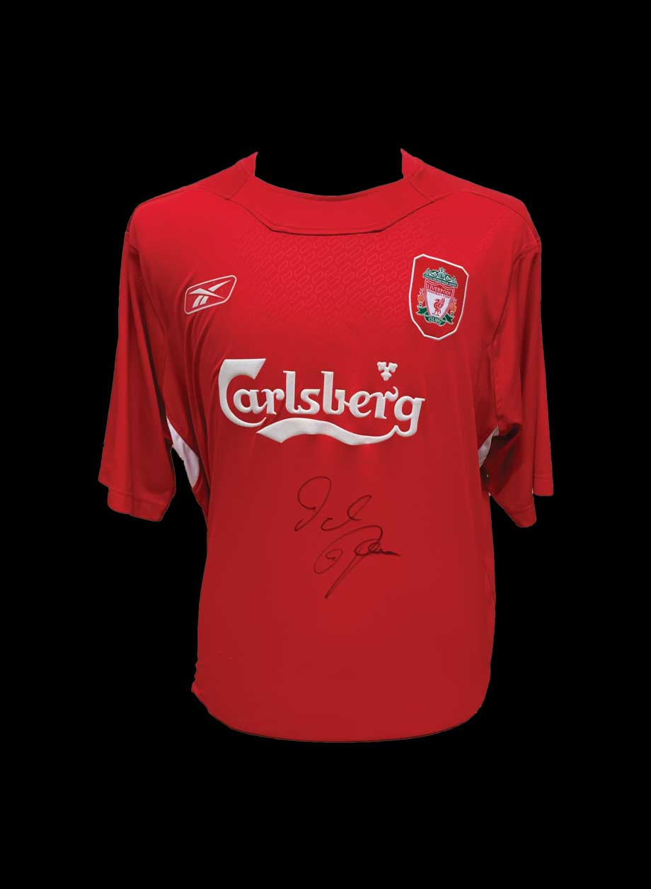 83022d4ad1a Dietmar Hamann signed Liverpool 2004 06 shirt - All Star Signings
