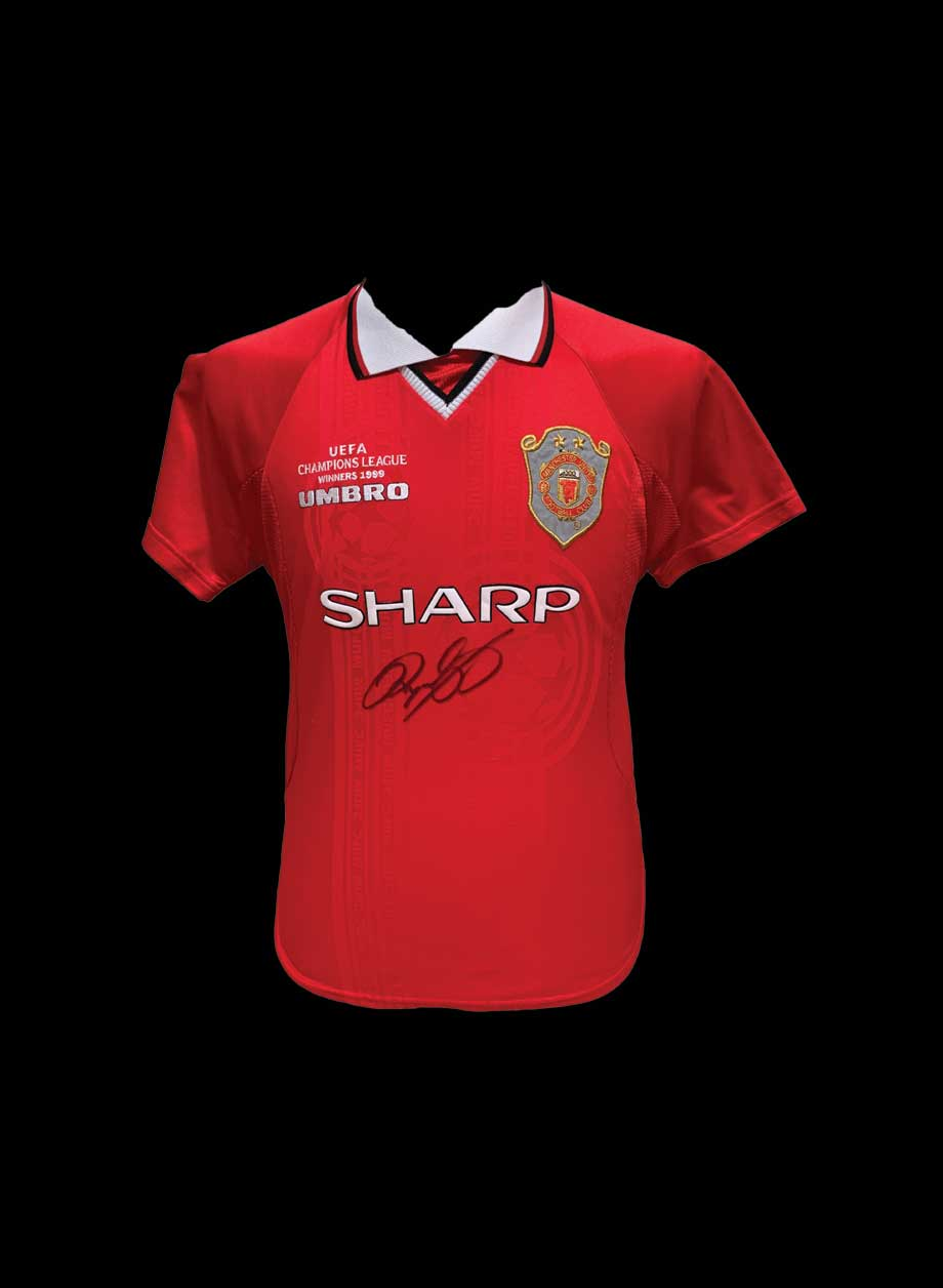Ryan Giggs Signed Manchester United 1999 Shirt