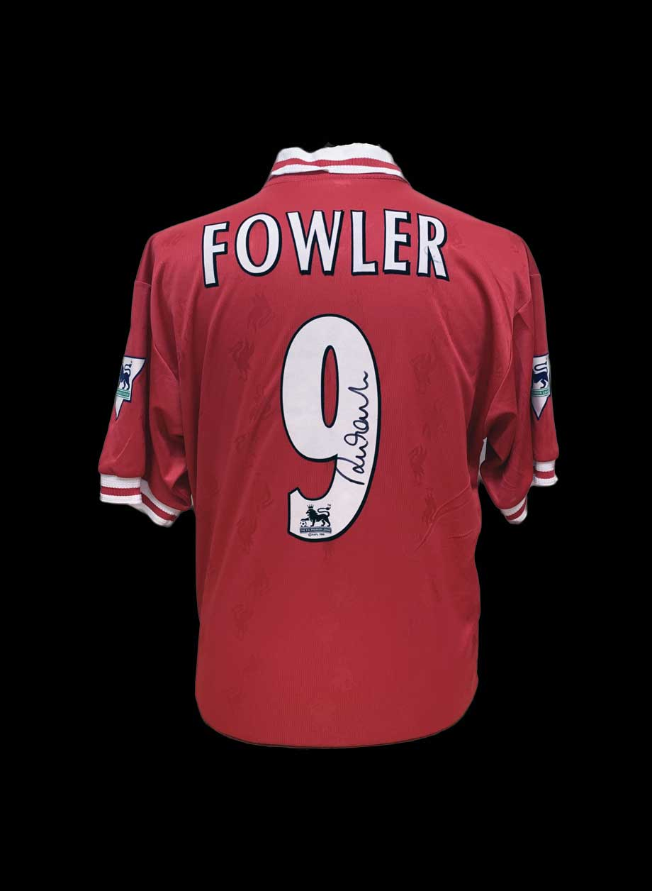 0c05fac9ad6 Robbie Fowler signed Liverpool 1996 1998 shirt - All Star Signings