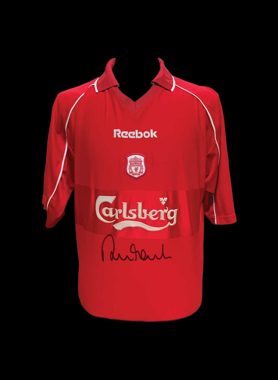 competitive price d8603 c060f Robbie Fowler signed Liverpool 2000/2002 shirt