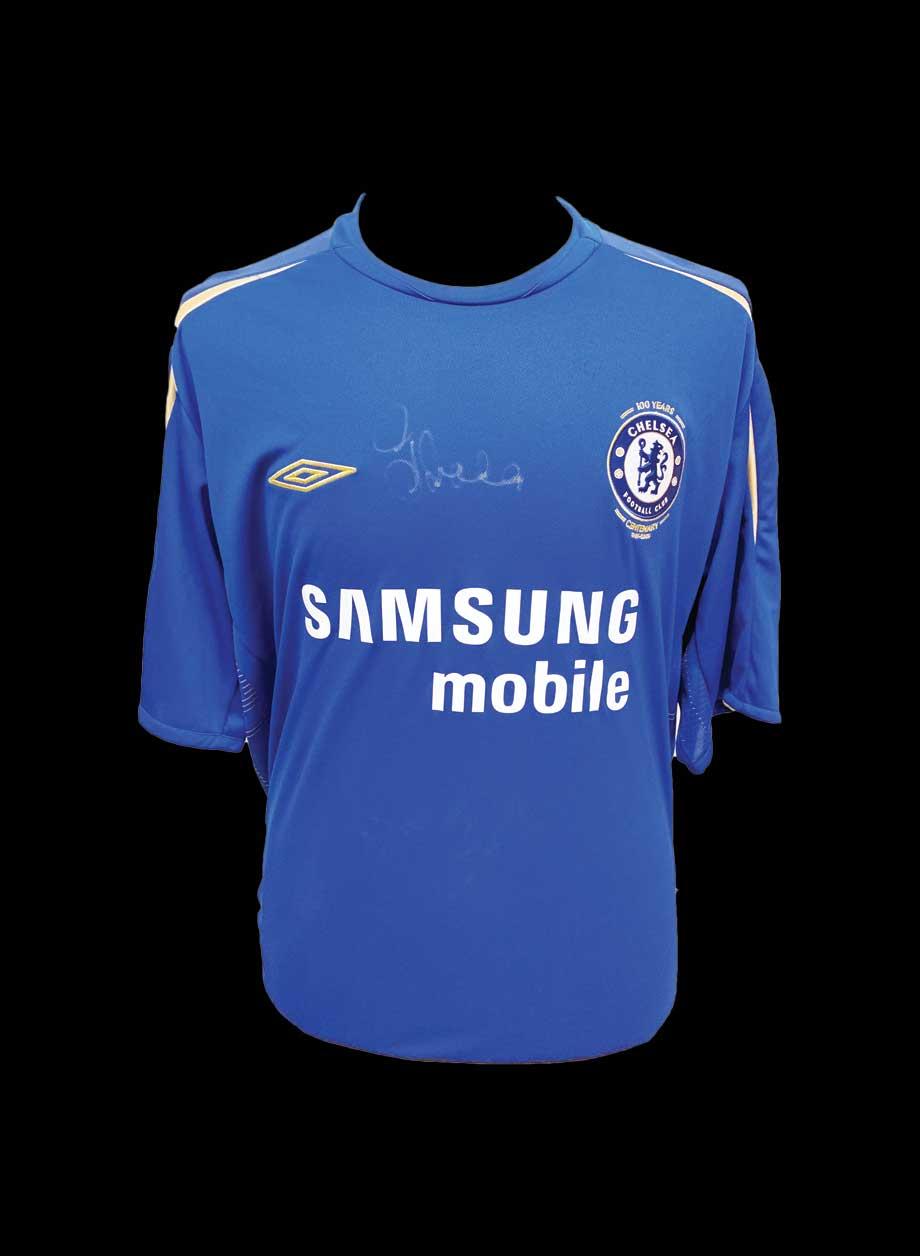 quality design 82cb0 a9716 Gianfranco Zola signed Chelsea 2005/06 shirt