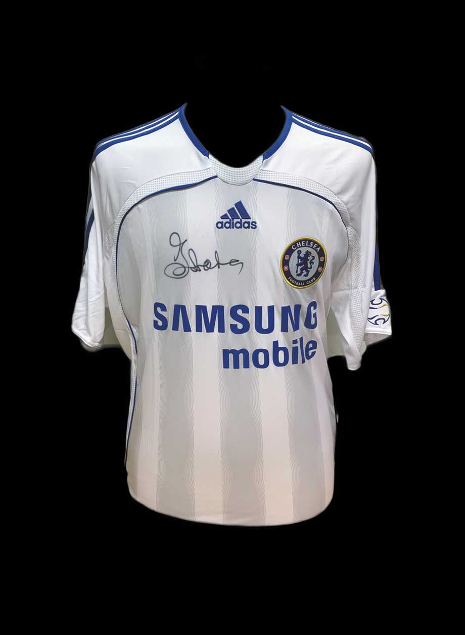 watch 124f9 9eb25 Gianfranco Zola signed Chelsea 2006/07 shirt